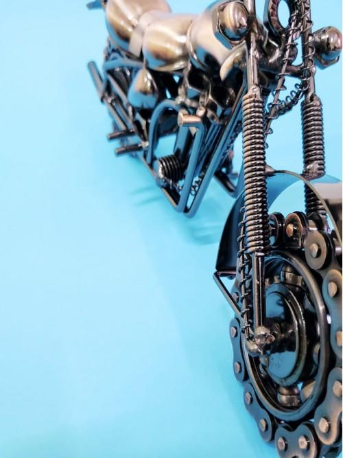 Büyük Boy Dekoratif Metal Motor