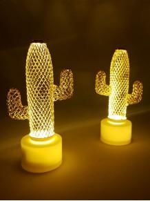 Mini Dekoratif Kaktüs Gece Lambası