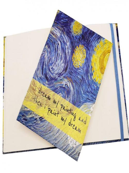 Van Gogh Sanat Eseri Tasarım Defter