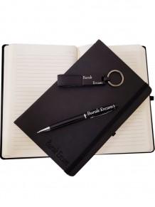 Kalem Defter Ve Anahtarlık Set
