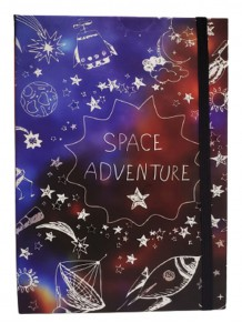 Space Adventure Temalı Defter