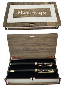 Kişiye Özel Vip Hediyelik Kalem Set
