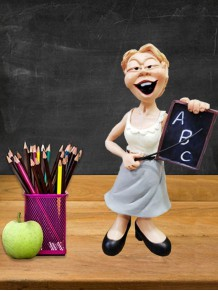 Bayan Öğretmen Meslek Biblosu