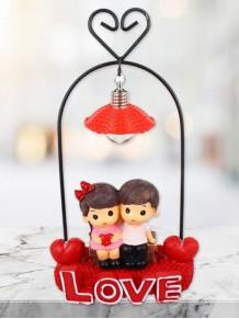 Love Yazılı Işıklı Romantik Sevgili Biblosu