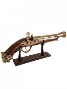 Dekoratif Antika Tüfek Tasarımlı Çakmak