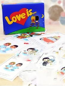 100 Adet Love İs Şıp Sevdi Sözleri Kutulu