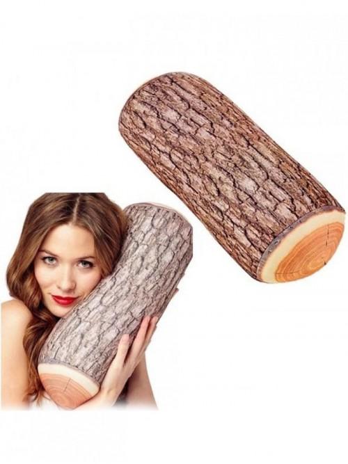 Ağaç Odun Görünümlü Kütük Yastık