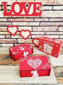 Aşk Kutusu Sevgiliye Hediye