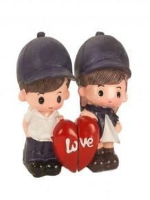 Çift Love Yazılı Sevgili Biblo