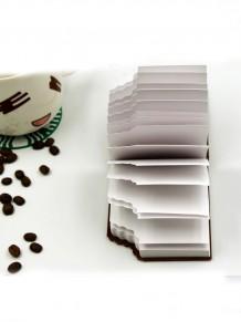 Çikolata Görünümlü Kokulu Not Defteri