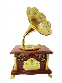 Gramofon Şeklinde Müzik Kutusu