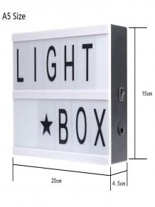 A5 Işıklı Lightbox Yazı Panosu