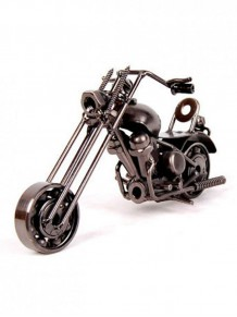 İlginç Dekoratif Siyah Metal Motor