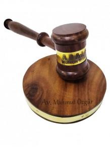 Kişiye Özel Hakim Tokmağı Ahşap