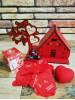 Kişiye Özel Romantik Sevgili Ahşap Aşk Evi