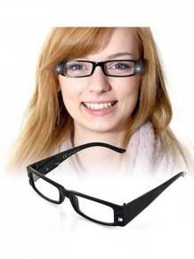 Led Işıklı Camsız Kitap Okuma Gözlüğü