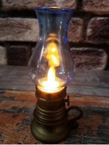 Led Işıklı Dekoratif Nostaljik Gaz Lambası