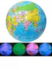 Led Işıklı Renk Değiştiren Dönen Dünya Küre