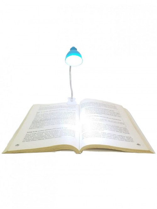 Mandallı Kitap Okuma Lambası Mini Boy