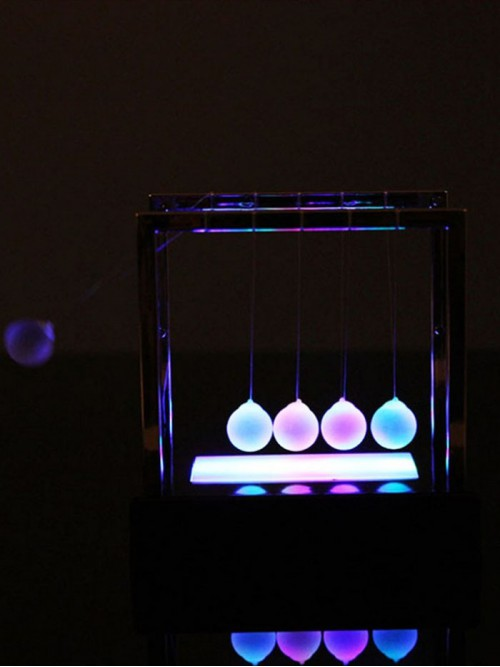 Newton Balance Işıklı Denge Topları Balans