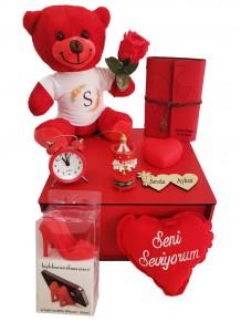 Sevgiliye Hediye Romantik Aşk Kutusu