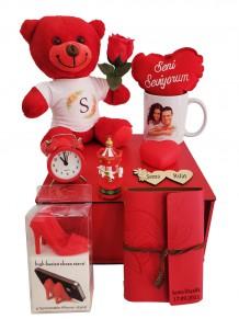 Sevgiliye Kişiye Özel Romantik Hediye Kutusu