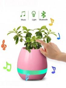 Sihirli Saksı Led Işıklı Bluetooth Hoparlör