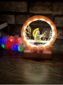 Unicornlu Dekoratif Gece Lambası