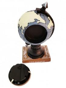Dünya Tasarımlı Masa Saati Dekoratif Kumbara