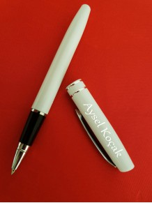 Bayana Kişiye Özel Beyaz Kalem
