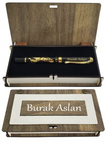 İsme Özel Kemal Atatürk Kabartmalı Roller Kalem