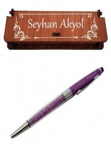 Bayana İsme Özel Metal Kalem