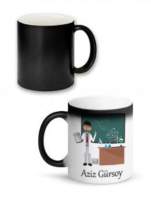 Kimya Öğretmenine Özel Sihirli Kupa Bardak