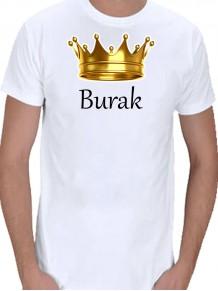 Kral Arkadaşa Hediye Beyaz Erkek Tişört